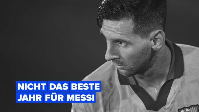 Messi sieht zum ersten Mal in Barcelona eine Rote Karte