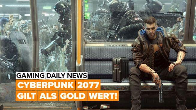 Cyberpunk 2077 ist Gold wert