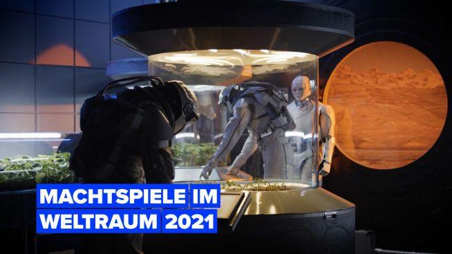 Die wichtigsten für 2021 geplanten Weltraummissionen