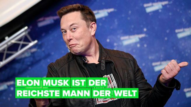 Elon Musk ist nun der reichste Mann der Welt