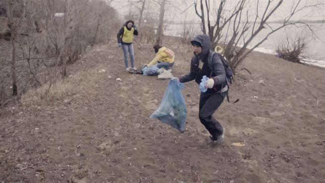 Wie Müllsammeln zu einem Wettkampf wurde