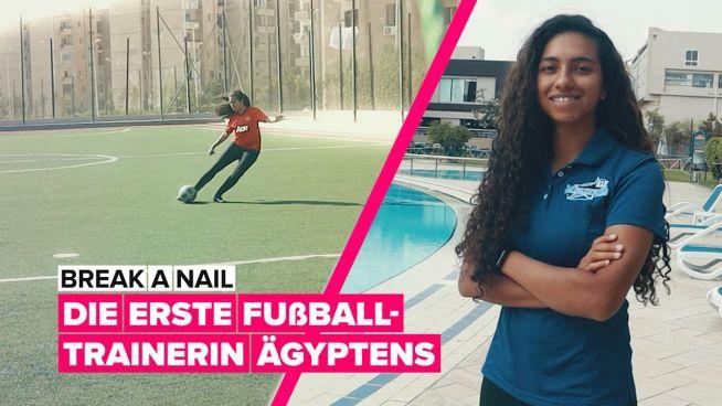 Farida ist die erste Fußballtrainerin Ägyptens