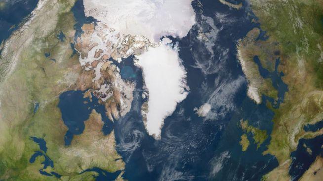 Das grönländische Inlandeis schmilzt von jetzt an nur noch weiter