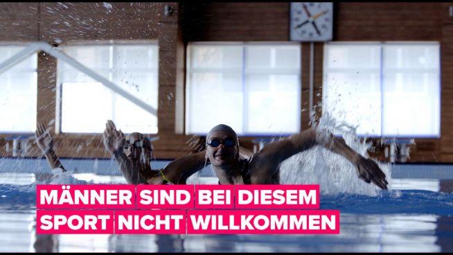 Männliche Synchronschwimmer träumen von Olympischen Spielen