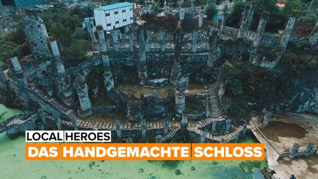 Dieser Professor hat ganz allein ein Schloss gebaut