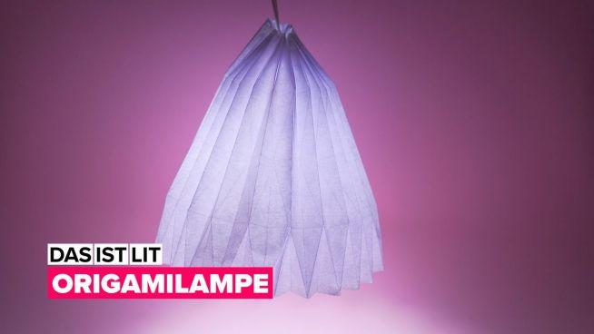 Erleuchte dein Leben: die Origami Lampe